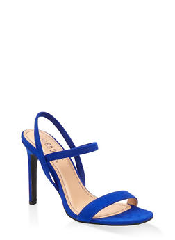 Slingback High Heel Sandals - 1111004062367
