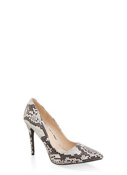 Pointed High Heel Pumps - BLACK - 1111004064426