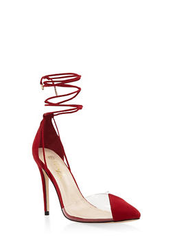 Heels and pumps rainbow cap toe lace up high heel pumps red s 1111004064427 mightylinksfo