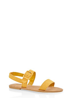 Two Band Slingback Sandals - 1112004062547