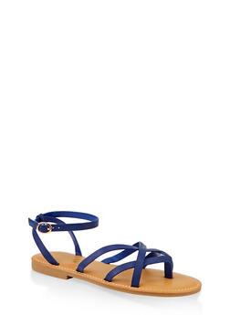 Criss Cross Sandals - 1112004063862