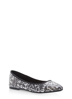 Pointed Toe Skimmer Flats - 1112004064669