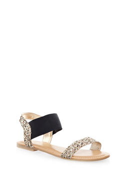 Double Strap Slingback Sandals - 1112004066245