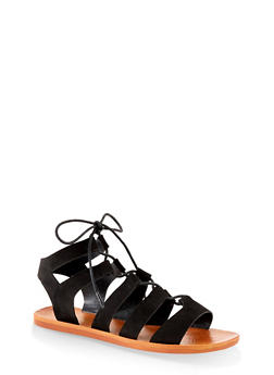 Lace Up Gladiator Sandals | 1112004066678 - 1112004066678
