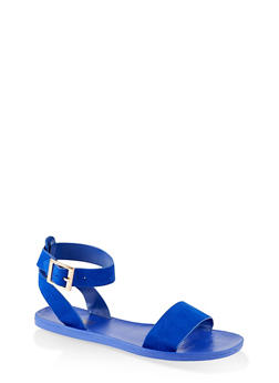 One Band Ankle Strap Sandals - 1112004066680