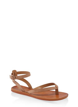 Thong Ankle Strap Sandals - 1112004066689