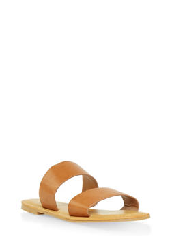 Double Band Slide Sandals | 1112004067482 - 1112004067482