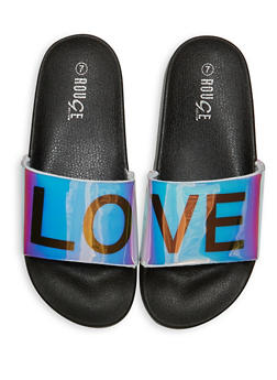 Love Graphic Pool Slides - 1112004067687