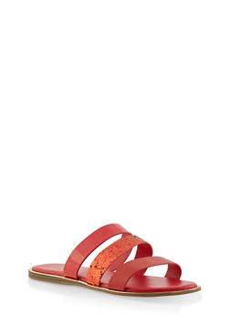 Triple Band Slide Sandals | 1112004067861 - 1112004067861