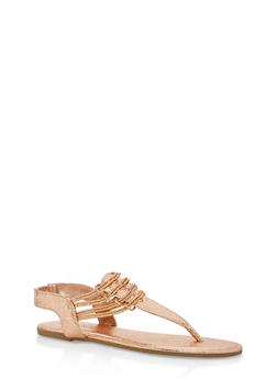 Stretch Loop Thong Sandals - 1112004067879