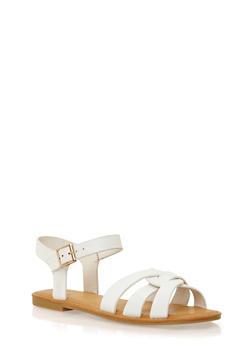 Sandals with Interlocking Straps - 1112004068338