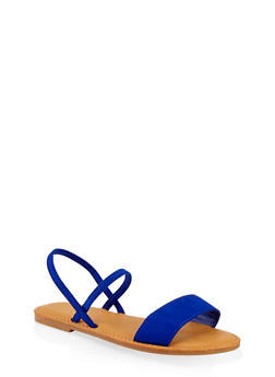 One Band Slingback Sandals - 1112004069286