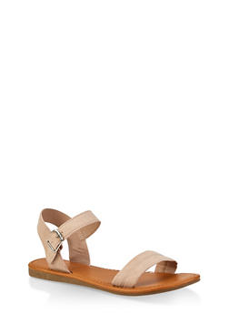 Ankle Strap Sandals | 1112027612649 - BLUSH - 1112027612649