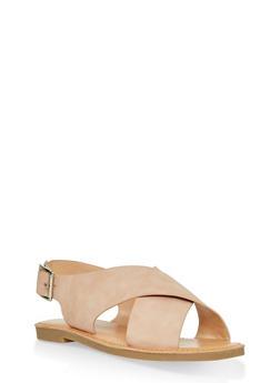 Criss Cross Sandals - 1112074967572