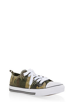 Camo Canvas Sneakers - 1114062126922