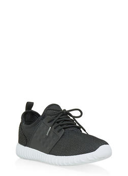 Womens Black Sneakers