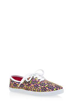 Lace Up Sneakers - 1114062728370