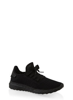 Mesh Athletic Sneakers - 1114062729363