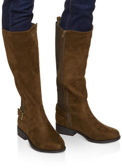 Gore Tall Riding Boots - OLIVE - 1116004066696