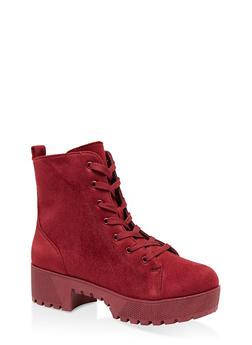 Lace Up Platform Boots | 1116004067640 - 1116004067640