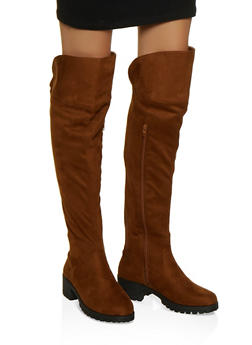 Over the Knee Gore Boots - 1116004069362