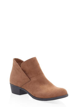 Slip On Booties - TAUPE - 1116027615225