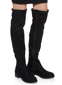 Over the Knee Boots - 1116056633728