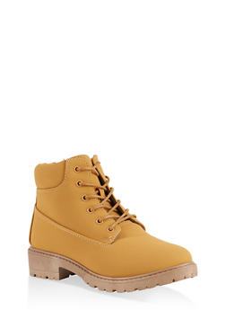 Lace Up Work Boots | 1116073541032 - 1116073541032