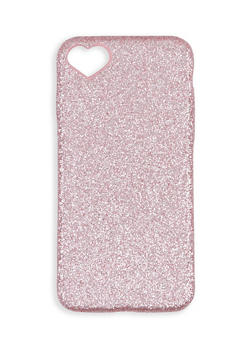 Heart Detail Glitter iPhone Case - 1120057690077