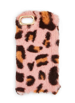Leopard Faux Fur iPhone Case - 1120057690757