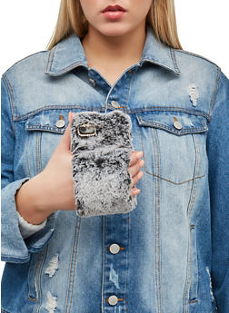 Faux Fur Cuff iPhone Case - 1120057697861
