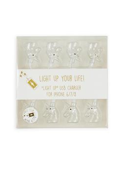 Unicorn LED Light Up USB Charger - 1120066416924