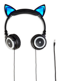 Light Up Cat Ear Headphones |1120066840040 - 1120066840040