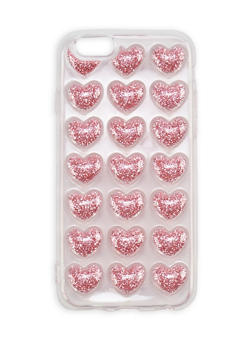 Glitter Hearts iPhone 6 Case - 1120067448000