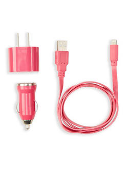 3 in 1 Car and Wall Chargers - 1120069821155