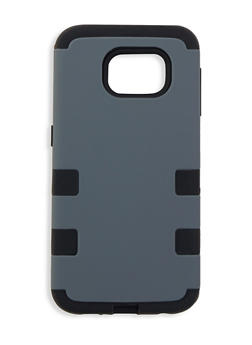 Galaxy S6 Double Layer Phone Case - Grey - 1120069826650