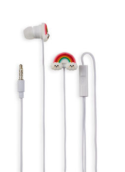Rainbow Cloud Earbuds - 1120070461300