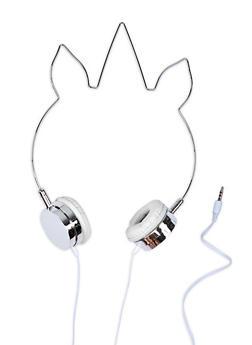 Unicorn Headphones - Silver - 1120070469970