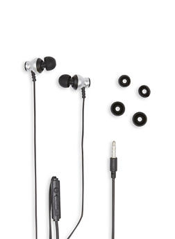 Titanium Earbuds with Mic - 1120071468760