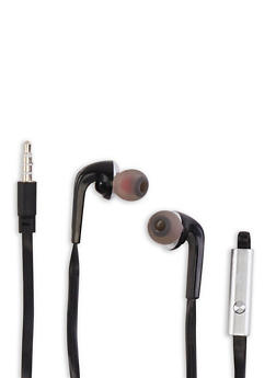 Super Bass Stereo Earbuds - Black - 1120072856540