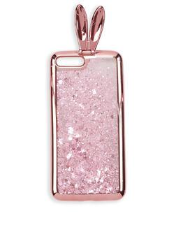 Glitter Bunny Ear iPhone Case - 1120074391510