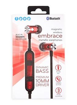 Bluetooth Metallic Earphones - 1120074615550