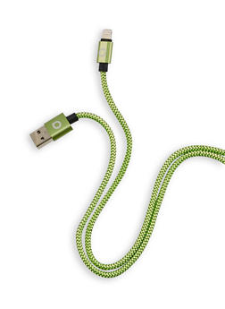 Ten Foot Apple Lightning USB Charge Cable - GREEN - 1120075060001
