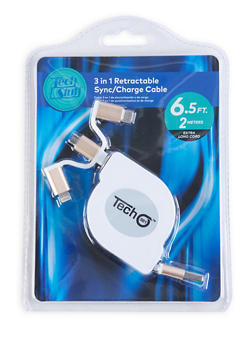 3 in 1 Charge Cable - BLACK - 1120075066500