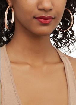 Glitter Earring Trio - 1122035154247