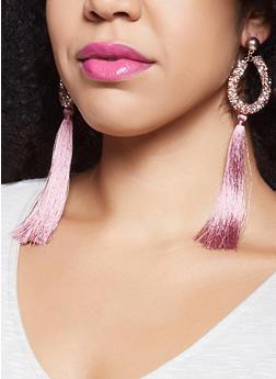 Tassel Drop Earrings - 1122072690704