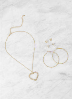 Gold Heart Necklaces