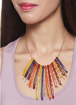 Plastic Stick Necklace - 1123074140511
