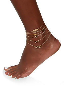 Infinity Anklet Set - 1123074141639