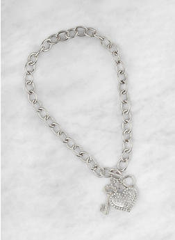 Toggle Charm Necklace - 1123074752434